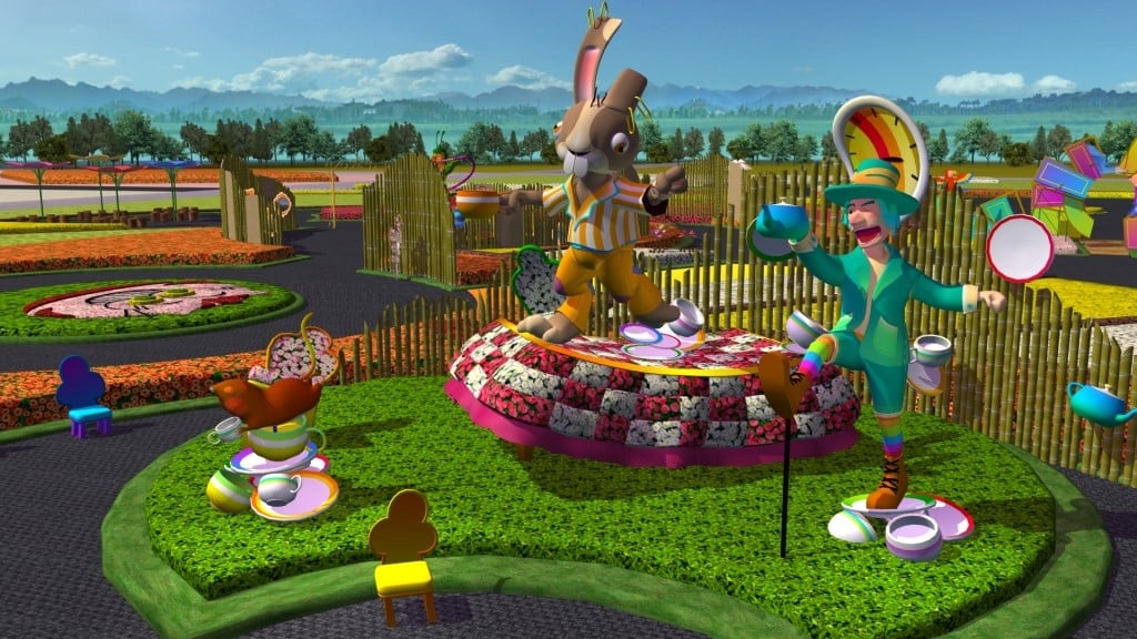愛麗絲夢遊仙境-兔子